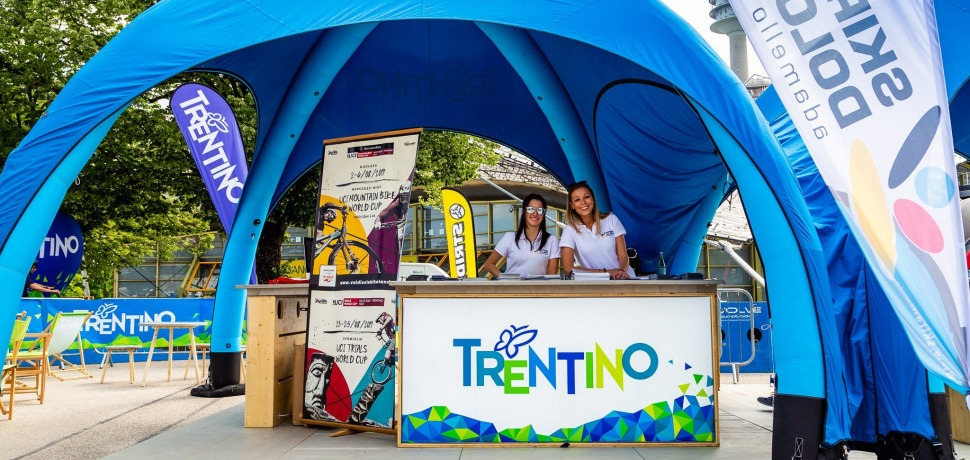 Trentino Bike Zone all'E-bike days di Monaco del 2019