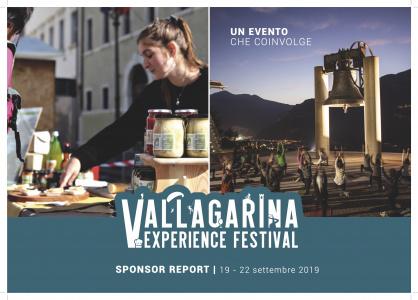 Copertina report prima edizione Vallagarina Experience Festival