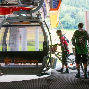 Trasporto bici impianti a fune