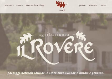 Agriturismo il Rovere sito web