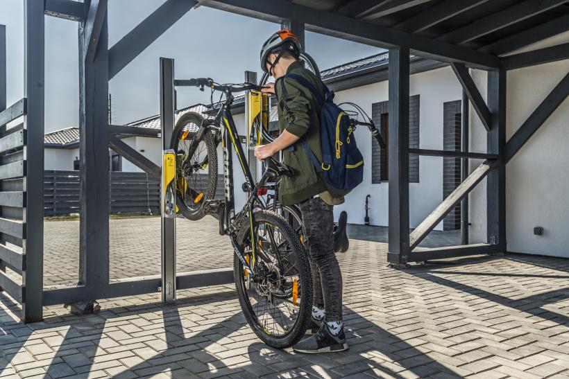 Parkis, innovative bike rack
