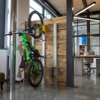 Parcheggio bici automatico