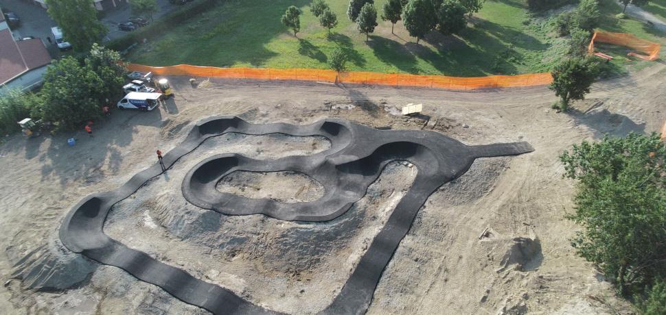 Pump track San Giuliano Milanese