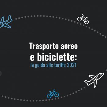 trasporto aereo biciclette