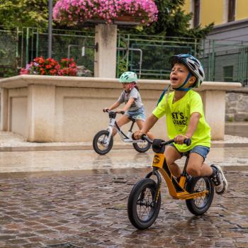 Un nuovo modo di imparare ad andare in bici